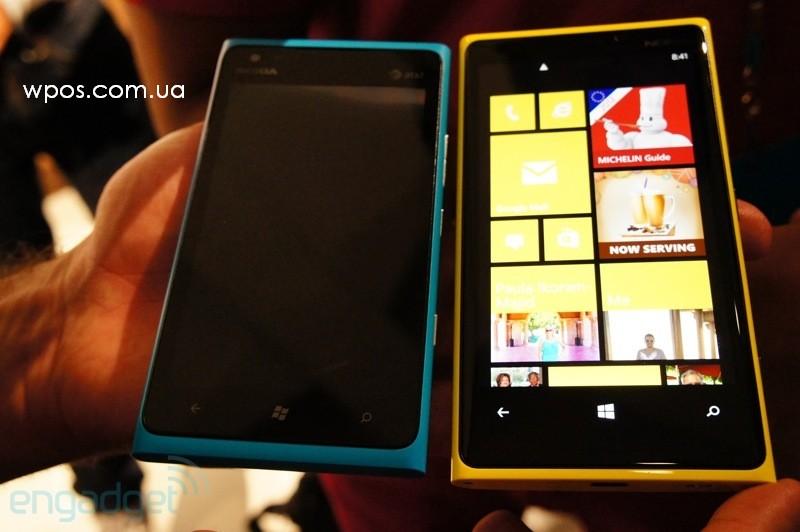 Nokia Lumia 900 и Lumia 920