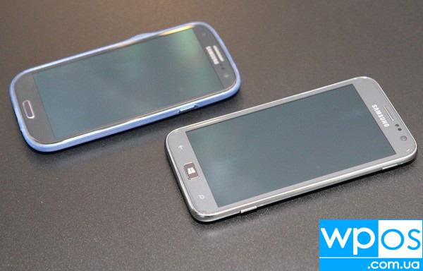 Samsung Galaxy S III против Samsung Ativ S