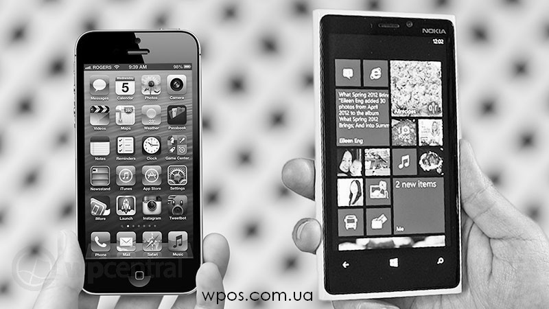 iphone5 или lumia920