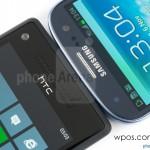 HTC 8X против Samsung Galaxy S3 3