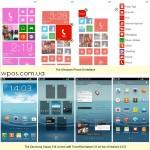 HTC 8X против Samsung Galaxy S3 интерфейс