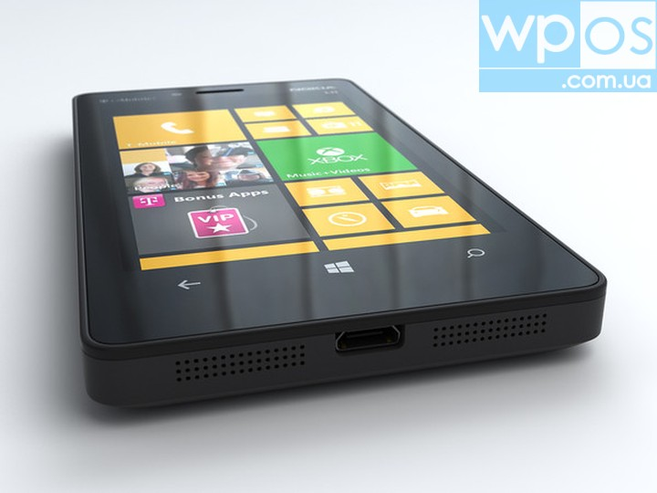Nokia Lumia 810 распаковка обзор