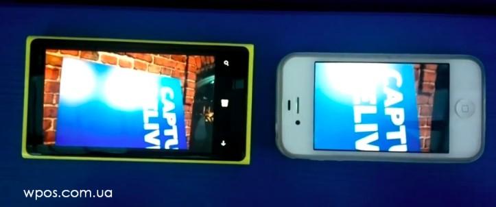 lumia 920 iphone 4s видео