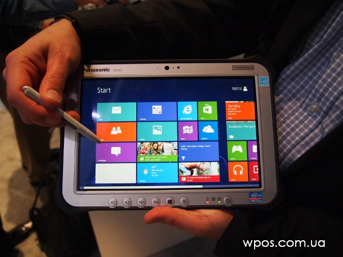 toughpad windows 8