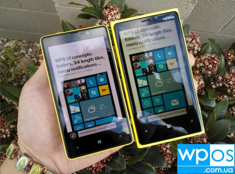 lumia 820 против lumia 920
