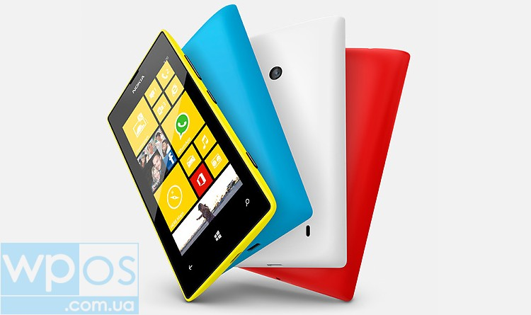 Nokia Lumia 520 официально в Украине