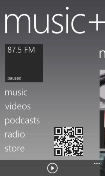 fm радио на Amber Nokia Lumia 925