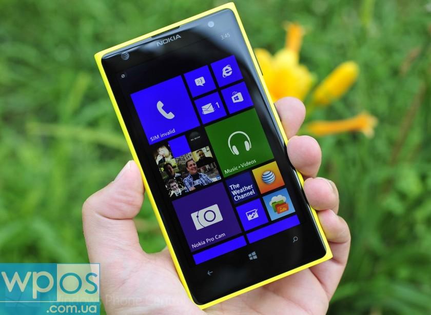 Nokia Lumia 1020 распаковка обзор