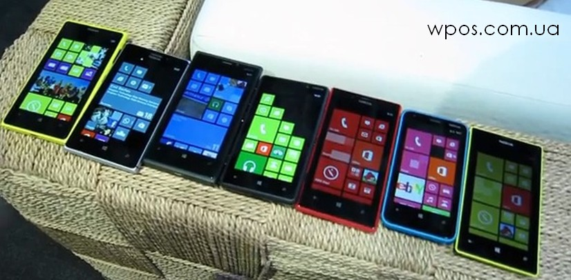 Nokia Lumia 1020 vs Lumia 925, 920, 820, 720, 620 и 520