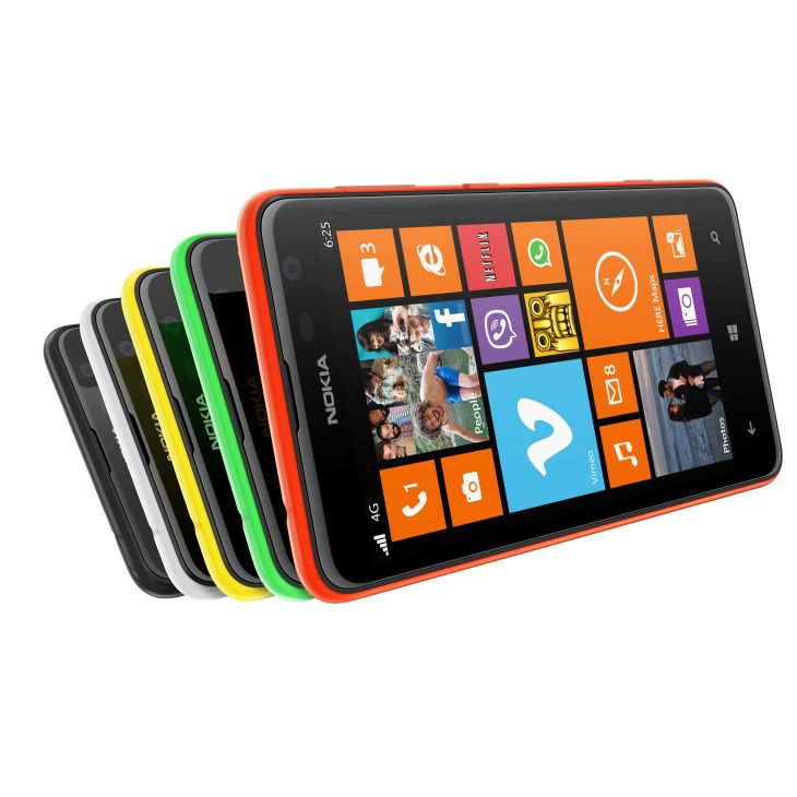 Nokia Lumia 625 фото видео цена