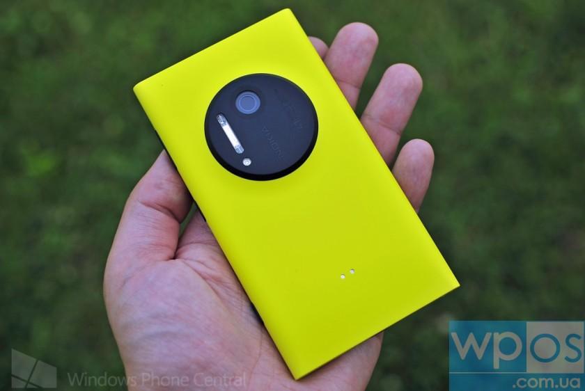 Lumia 1020 - Такой плоский, такой яркий, такой желтый...