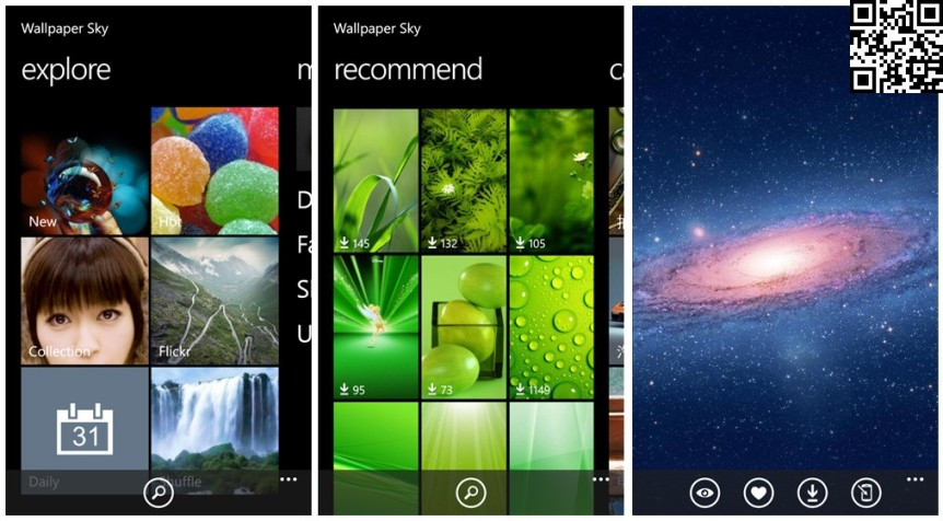 Wallpaper Sky Windows Phone 8