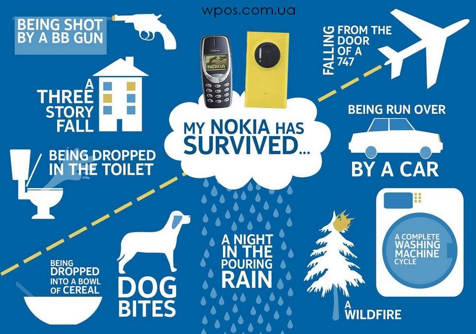 Моя неубиваемая Nokia