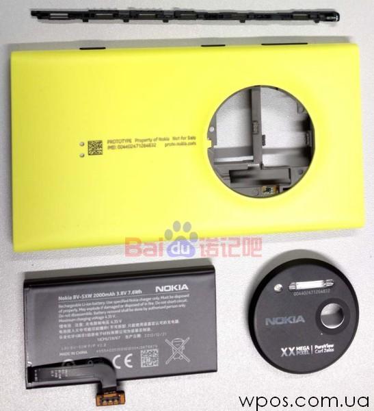 Nokia Lumia 1020 разобранный