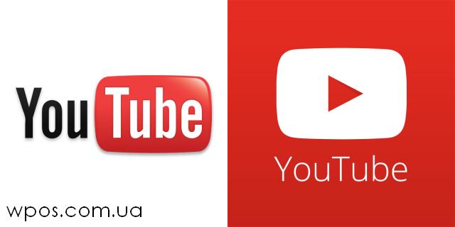 Новый логотип YouTube 2013
