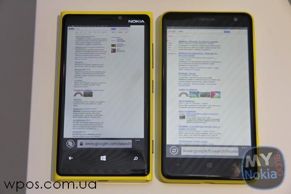 Nokia Lumia 625 против Lumia 920
