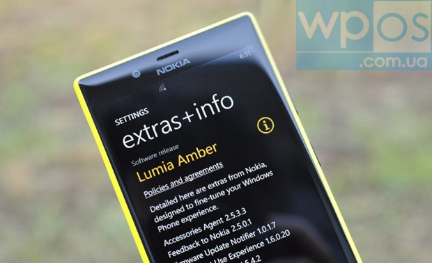 Lumia Amber для Nokia Lumia 720