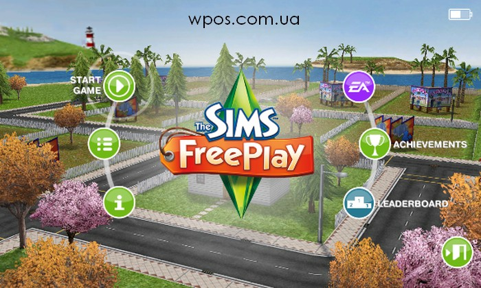 The Sims FreePlay Windows Phone