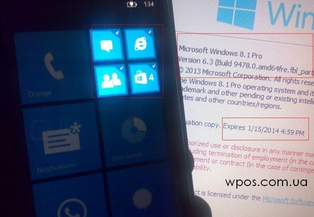 Windows Phone 8.1 Blue 4 4