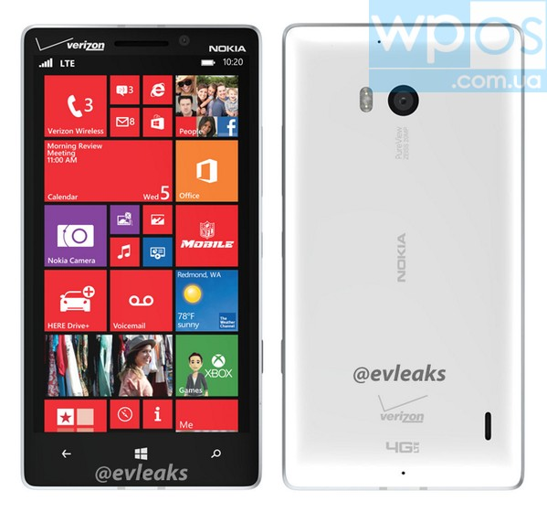 Nokia Lumia 929 White