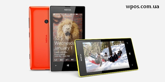Nokia Lumia 525 официально