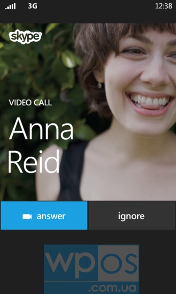 Windows Phone 8.1 поддержка Skype