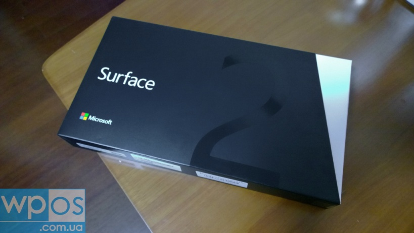 Microsoft Surface 2 упаковка