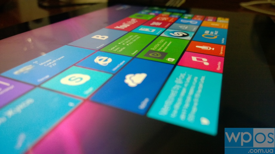 Microsoft Surface 2 экран