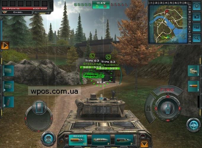 Tank Domination windows phone