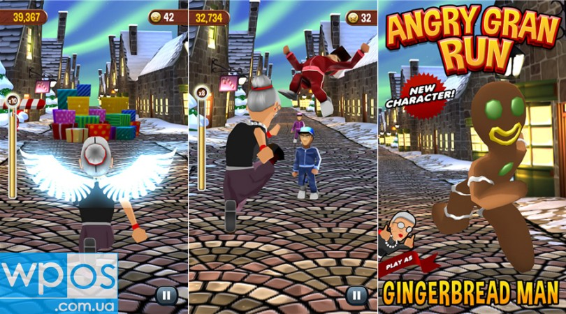 angry gran run Windows Phone 8