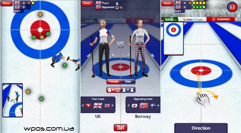Curling 3D WP