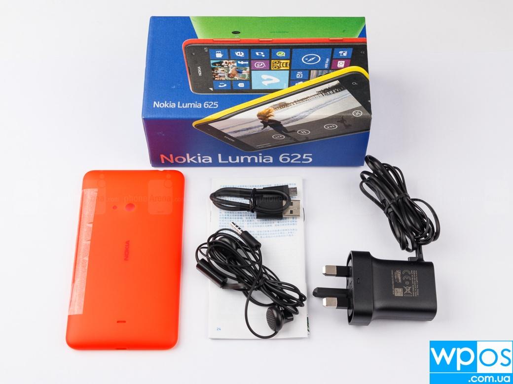 Nokia Lumia 625 распаковка