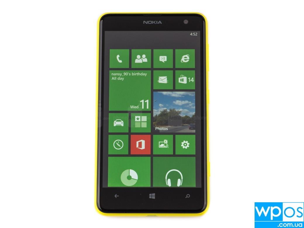 Nokia Lumia 625 дисплей экран