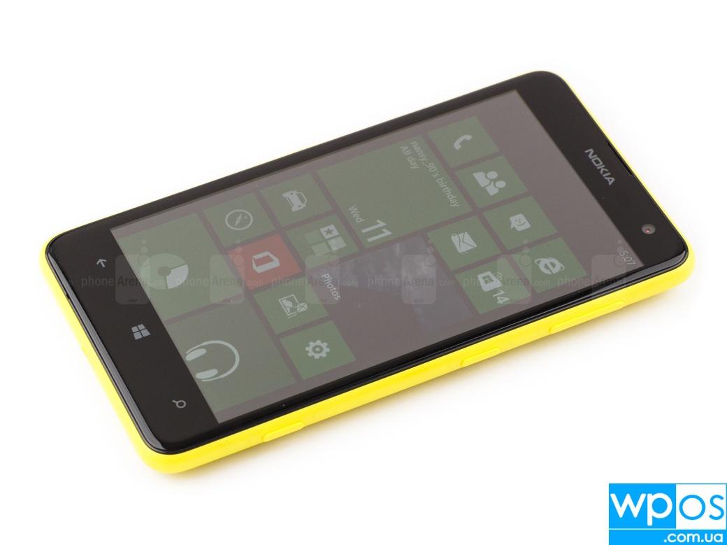 Nokia Lumia 625 обзор 1