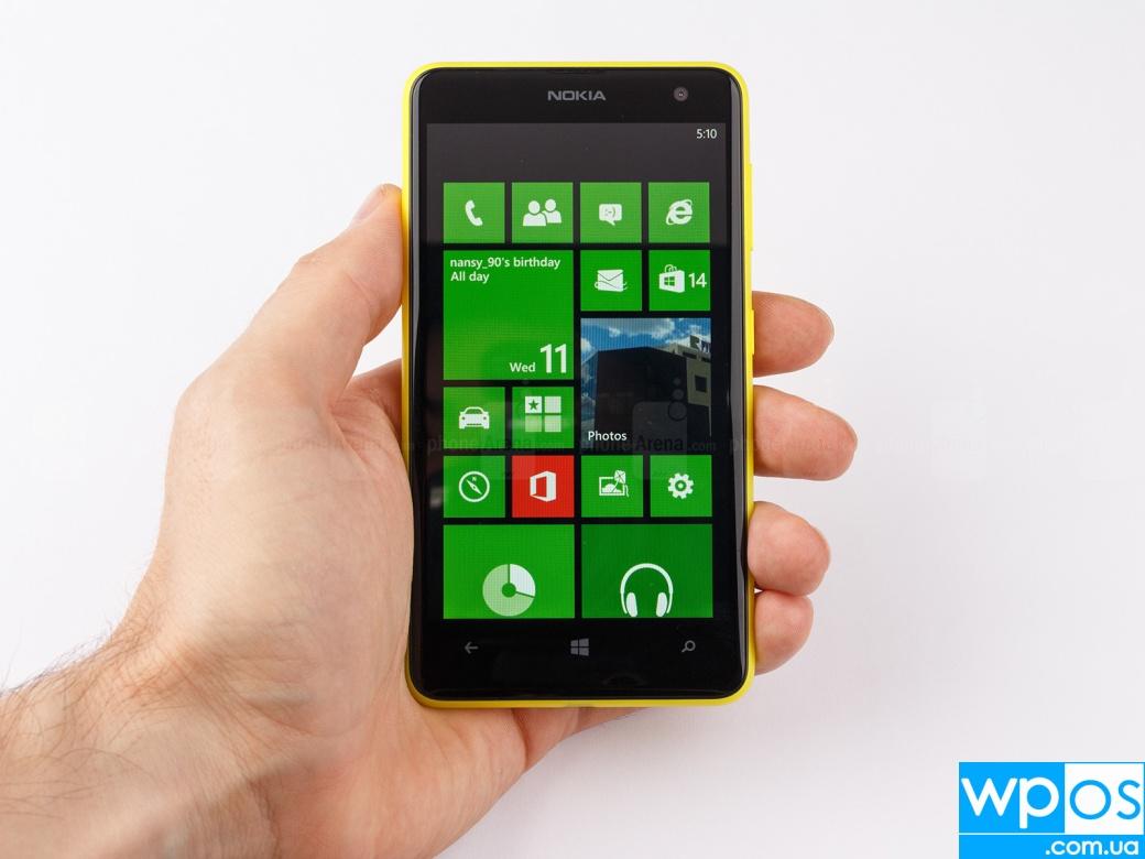 Nokia Lumia 625 обзор