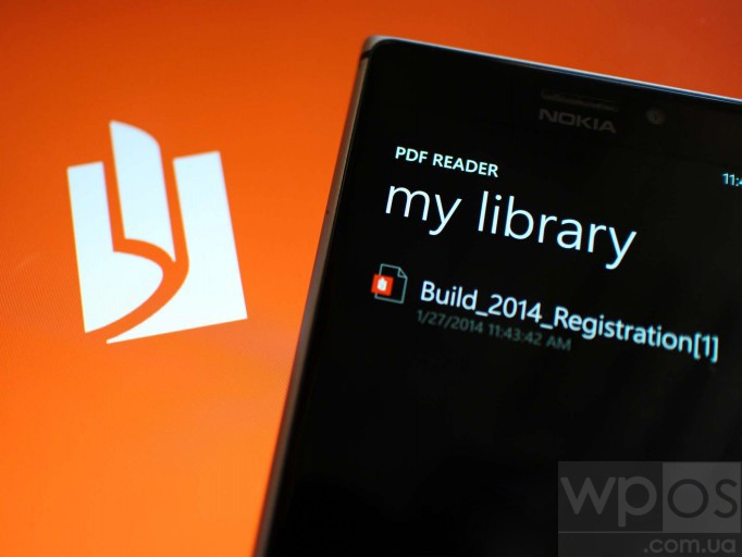 PDF Reader Windows Phone