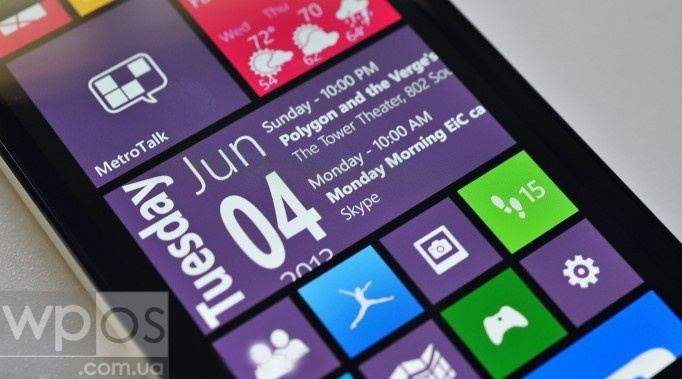 Simple Calendar windows phone