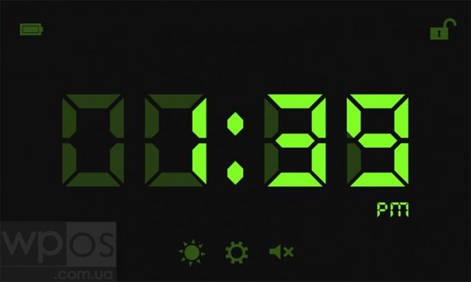 1:CLOCK Настольный режим