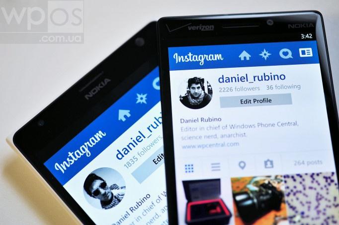 Instagram обновление