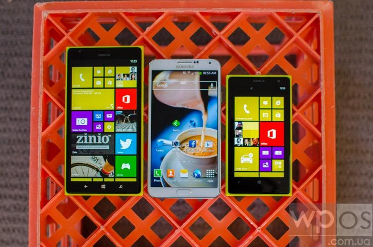 Lumia 1520 Дизайн