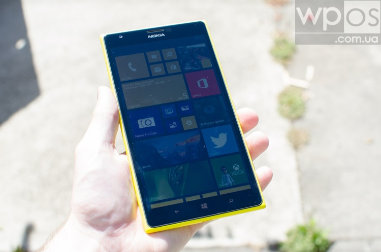 Lumia 1520 экран