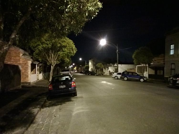 Lumia 1520 фото ночь