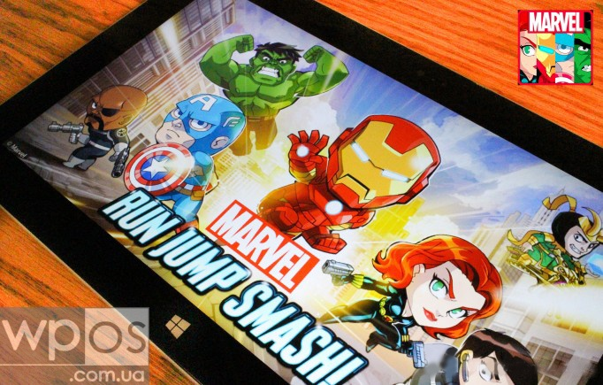 Marvel Run Jump Smash для Windows 8