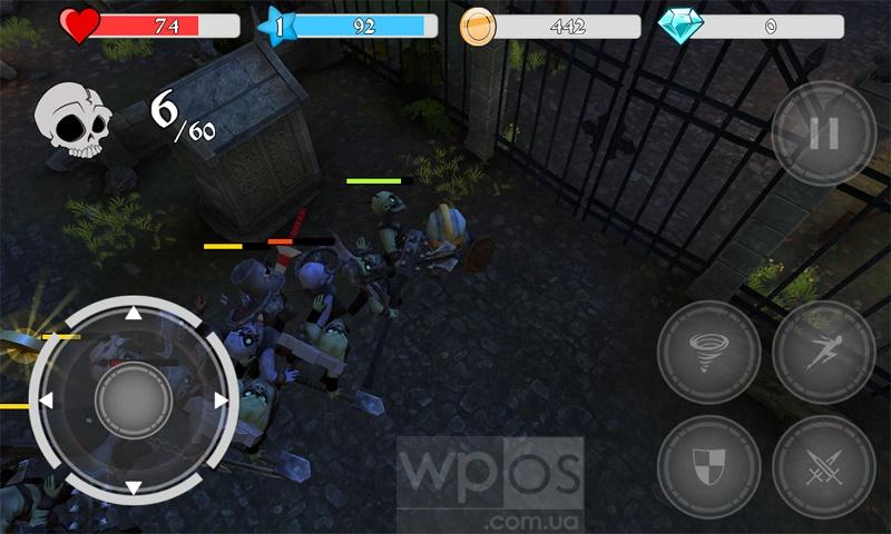 Бой с зомби в Medieval Apocalypse