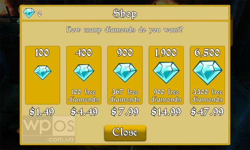 «Магазин алмазов» в Medieval Apocalypse