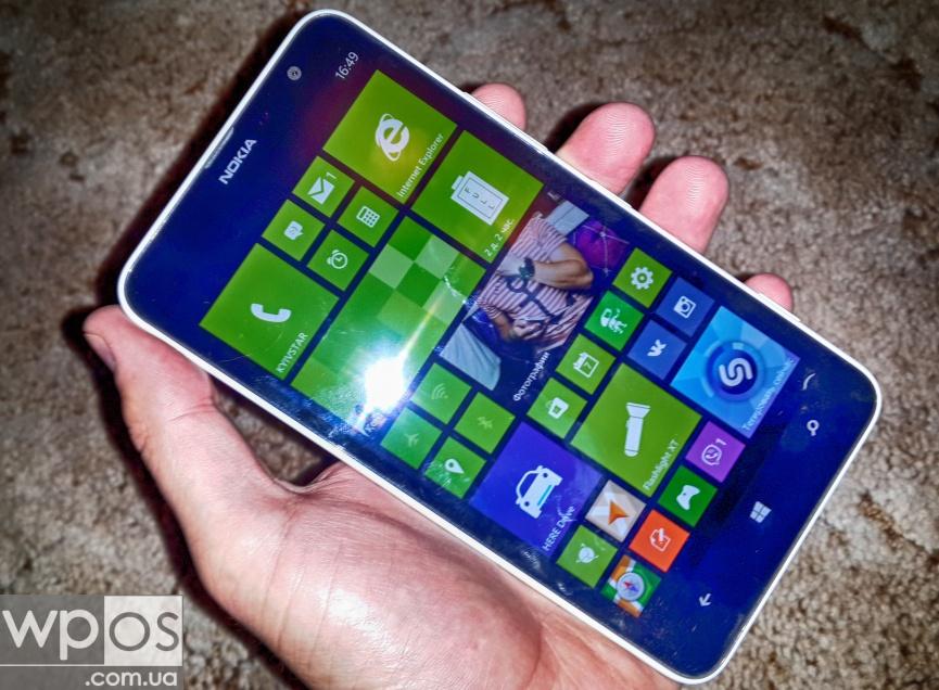 Nokia Lumia 1320 видео-обзор