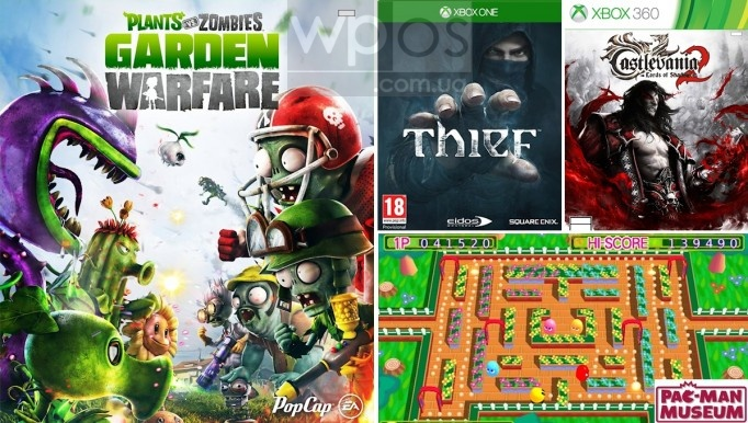 Plants vs. Zombies: Garden Warfare, Thief, Castlevania и Pac-Man