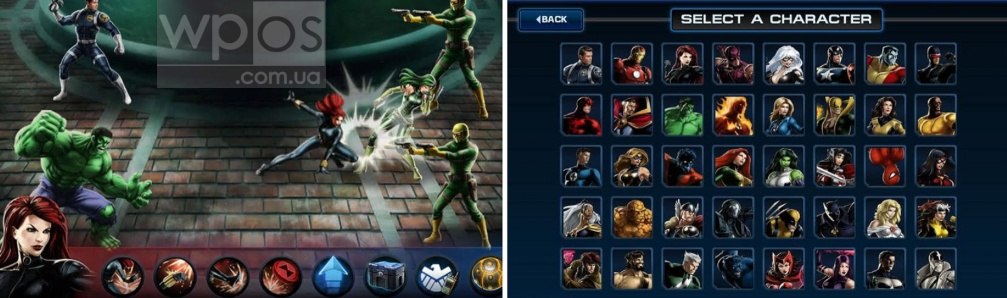 Avengers Alliance windows phone