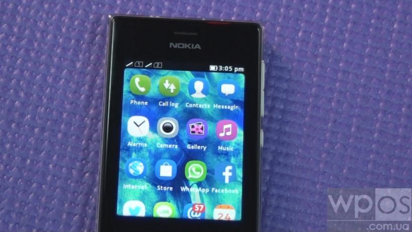 Nokia 503 экран