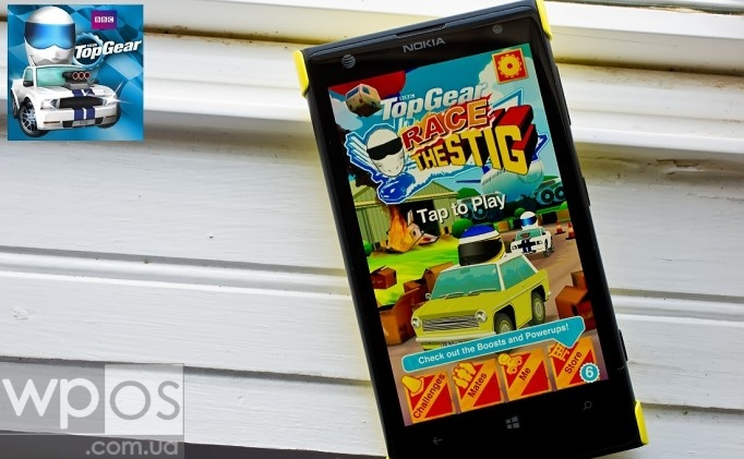 Race The Stig на windows phone